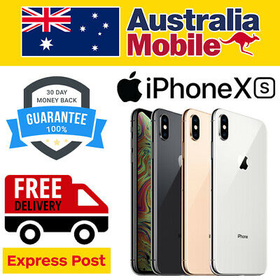 AU469 • Buy Apple IPhone XS 64G 256GB AS NEW EXCELLENT UNLOCKED SMARTPHONE AU STOCKED