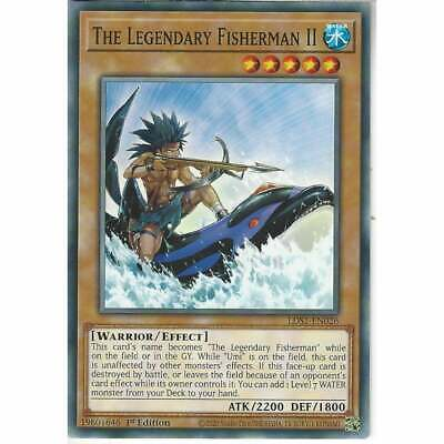LDS1-EN026 The Legendary Fisherman II | 1st Edition Common Cards | YuGiOh TCG • 0.99£