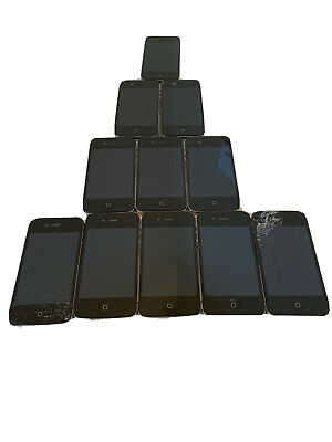 $ CDN243.59 • Buy Lot Of 11 Apple IPhones Verizon(5)4s 8GB (2)4 8GB (3)4s 16GB &AT&T(1)4s 16GB