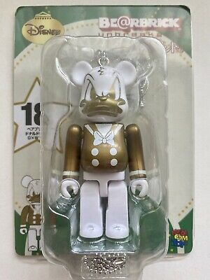 $29.99 • Buy Donald Duck 100% Bearbrick Be@rbrick Medicom Disney G+W 2011 Rare Unbreakable
