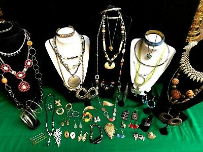 $ CDN34.04 • Buy Lot - 50 Pieces  Vintage & Fashion Jewelry 6 Signed -coldwater Creek Cookie Lee