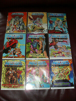 $35 • Buy Masters Of The Universe MOTU He-Man Mini Comic Lot Of 9 Acceptable To Good #5