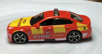 $1 • Buy Matchbox BMW M5 Red Fire Vehicle 1/64 Diecast Loose