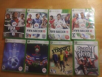 $ CDN27.20 • Buy Lots Of 8 Xbox 360 Games 6 With Manuel And 2 Without Manuel