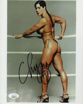 $ CDN126.86 • Buy Chyna Autograph Signed 8x10 Photo Wrestler WWE WWF JSA COA Z5