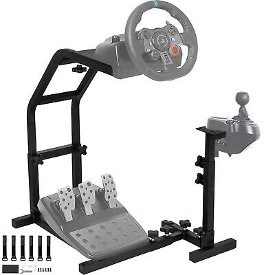 Racing Simulator Steering Wheel Stand For G27 G29 PS4 G25 T300RS T80 • 59.99£