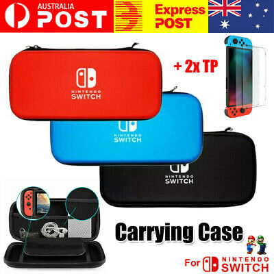 AU16.94 • Buy For Nintendo Switch Carry Bag Storage Case Console Protect Shell Tempered Glass