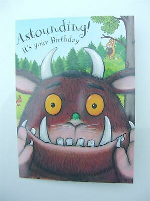 £3.99 • Buy The Gruffalo 'Astounding!' Birthday Card For Any Age By Danilo - GR011
