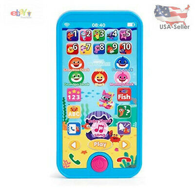 $14.93 • Buy WowWee Pinkfong Baby Shark Smartphone - Educational Preschool Toy