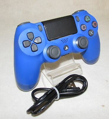 Sony PS4 Official DualShock Controller - V2 Wave Blue CUH-ZCT2E RF2762 • 22.99£