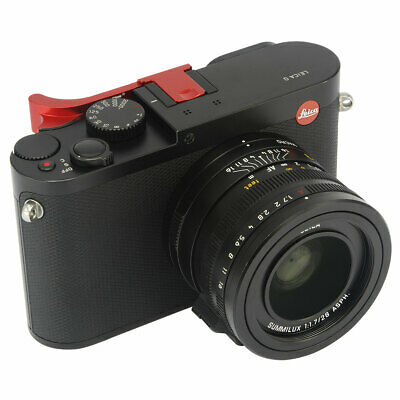 Thumbs Up Hand Grip Securely Grip For Leica Q Q-P QP Typ116 Typ 116 Camera Red • 29.49£