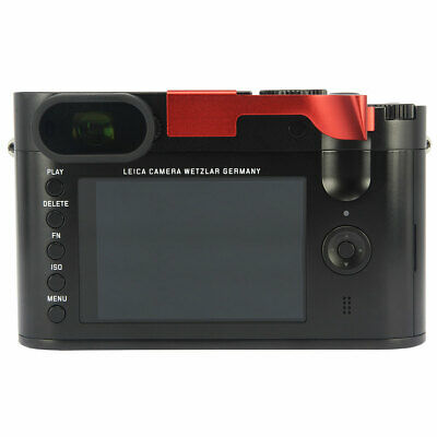 £33.48 • Buy Thumbs Up Grip Add-on Rest For Leica Q Q-P QP Typ116 Better Balance Grip Red