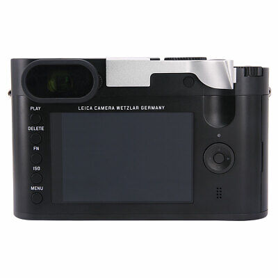 £33.48 • Buy Thumbs Up Grip Add-on Rest For Leica Q Q-P QP Typ116 Better Balance Grip Silver