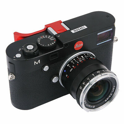 Camera Metal Thumbs Up Grip Hand Grip Designed For Leica M M-D MD Typ262 Red • 29.49£