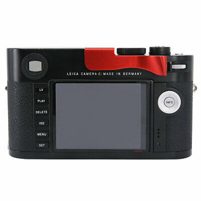 Thumbs Up Hand Grip Securely Grip For Leica M M-D MD Typ262 Typ 262 Camera Red • 33.48£