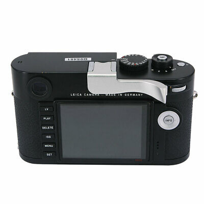 Thumbs Up Grip Add-on Rest For Leica M M-D Typ262 Camera Better Balance Silver • 33.48£