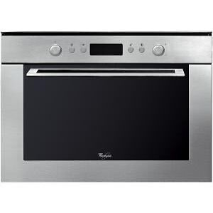 Whirlpool Built In AMW820/IX 900W Micowave And Grill - Stainless Steel • 373.99£