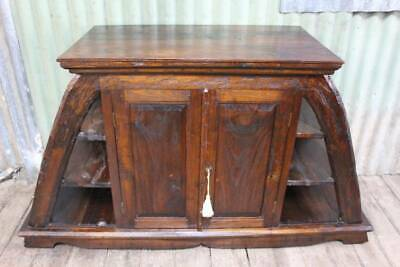 AU450 • Buy A Large Hand Carved Sideboard Console Or TV Cabinet *FREE DELIVERY*T&C S