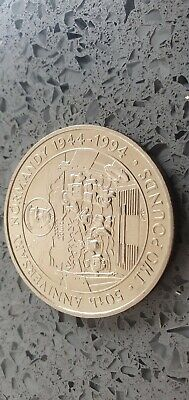 Elizabeth 11 Bailiwick Of Guernsey Two Pounds Coin • 6£