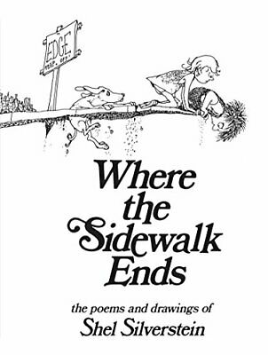 Where The Sidewalk Ends, Paperback  By Shel Silverstein • 16.30£