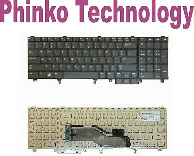 AU30.80 • Buy USED Keyboard For Dell Latitude E5520 E6520 E6530 E5530 E6540