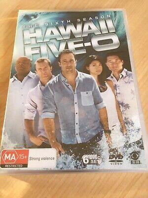 AU39.95 • Buy NEW & SEALED Hawaii Five 0 The Sixth Season 6 Series Six DVD Aus Region 4