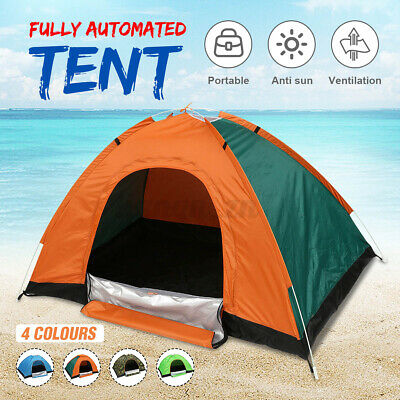 AU19.65 • Buy  1-2 Person Camping Dome Tent Traveling Camping Outdoor Waterproof Sun Canopy