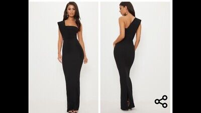 £20 • Buy Pretty Little Thing Black Coctail Dress Size 14