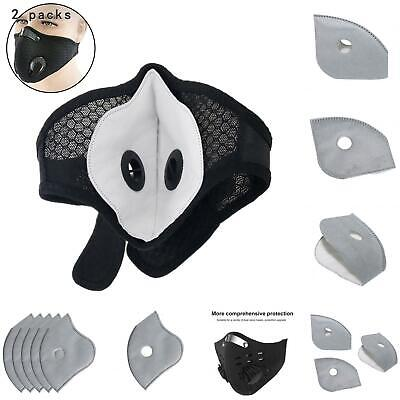 $ CDN9 • Buy 10 Pack Adult PM2.5 5 Layer Carbon Face Super Fresh Air Mask Filter Replacements