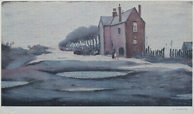 Large Framed LS Lowry Print – The Lonely House (Picture Painting English Artist) • 24.95£