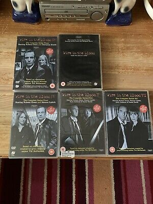Wire In The Blood: The Complete Series 1-6 Boxset Robson Green Cert 15 2 • 20£