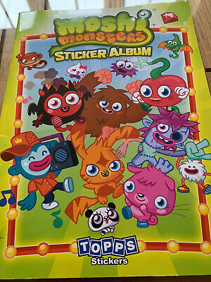 £0.99 • Buy Topps Moshi Monsters  Stickers 2011