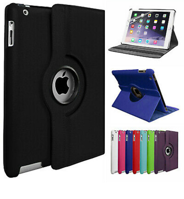 £4.20 • Buy For Apple IPad 7th Generation 10.2  (2019) 360° Rotating PU Leather Case Cover