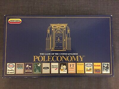 Poleconomy Board Game - 1987 Edition - Complete - Spear's Games • 3£