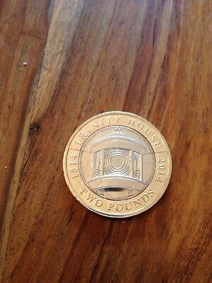 £2 COIN TWO POUND 500th ANNIVERSARY TRINITY HOUSE COLLECTABLE 2014 • 3.36£