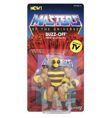 $29.95 • Buy Masters Of The Universe Super 7 Buzz-Off UNPUNCHED