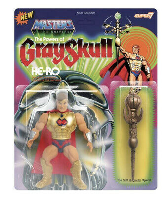 $29.95 • Buy Super 7 HE-RO MOTU Masters Of The Universe Unpunched Sealed