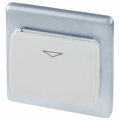 LAP Key Card Switch Brushed Stainless Steel   UK-SZCN • 20.99£