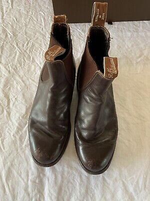 AU143.50 • Buy RM Williams Brown Leather Womens Boots Size 6G W