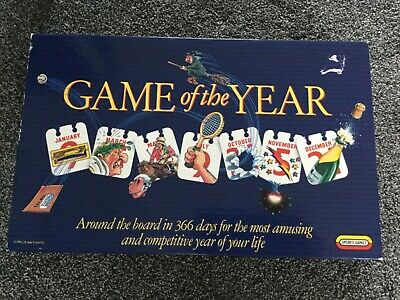 Game Of The Year  Spears Games 1989 Complete  • 6£