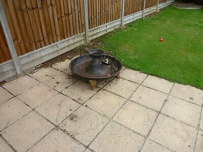 3ft Victorian Circular Cast Iron Pig Trough Mexican Hat Planter • 75£