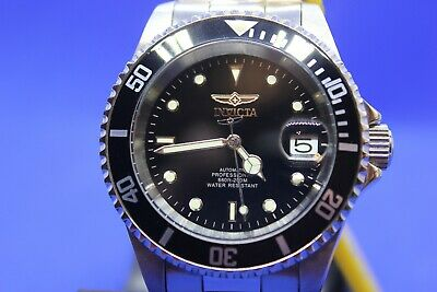 View Details  gents Invicta 24jwl Automatic Professional Divers Watch Boxed And P/work In GWO • 38.00£