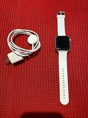 $ CDN266 • Buy Apple Watch Series 4 44 Mm Silver Aluminum Case With White Sport Band (GPS)