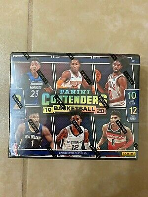 $825 • Buy 2019-20 Panini Contenders Basketball First Off The Line FOTL Box - Zion, Ja Rc's