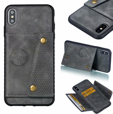 AU8.82 • Buy For OPPO A9 2020 / A5 2020 Slim PU Leather Wallet Card Slot Kickstand Case Cover