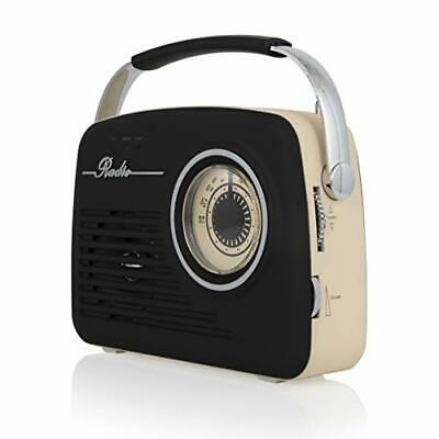 Akai A60014V Vintage Radio With AM And FM Radio Functions, Built-in  USB, • 48.55£