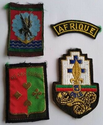French Foreign Legion Cloth Patches X 4 • 20£