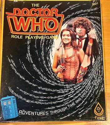 Doctor Who Role Playing Game Dr Who FASA 1985 - Fantastic - See Pics • 27.49£