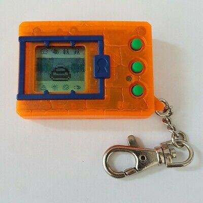 AU149.99 • Buy Original Genuine 1997 Bandai Clear Orange Digimon Tamagotchi Virtual Pet