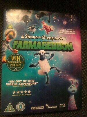 Farmageddon A Shaun The Sheep Movie Blu-ray. 2019 • 4.20£